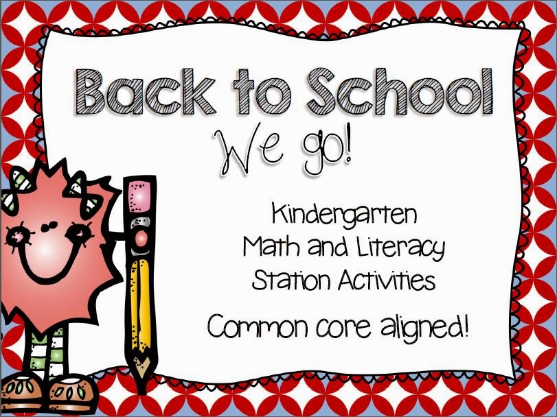 http://www.teacherspayteachers.com/Product/Back-to-School-Kindergarten-Common-Core-Stations-283764