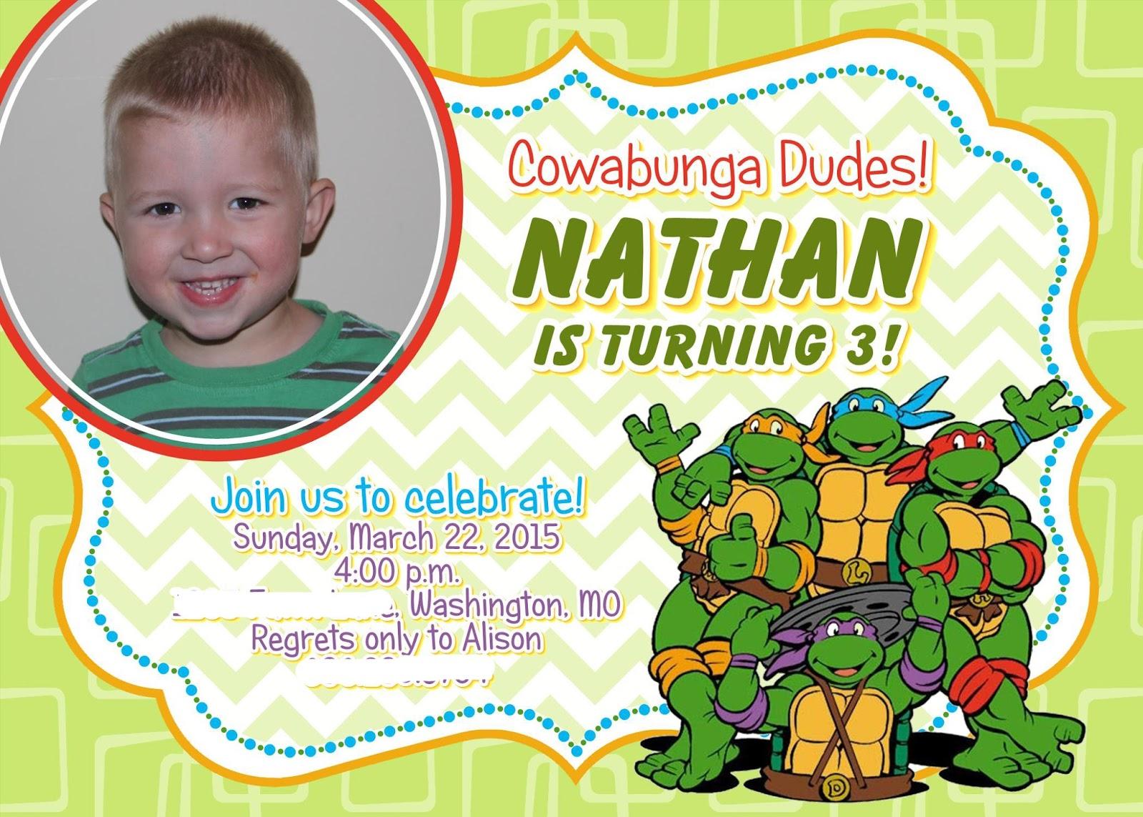 Nathans 3rd Birthday Part 3
