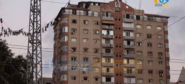 Vídeo mostra prédio em Gaza a ser atingido por mísseis de Israel