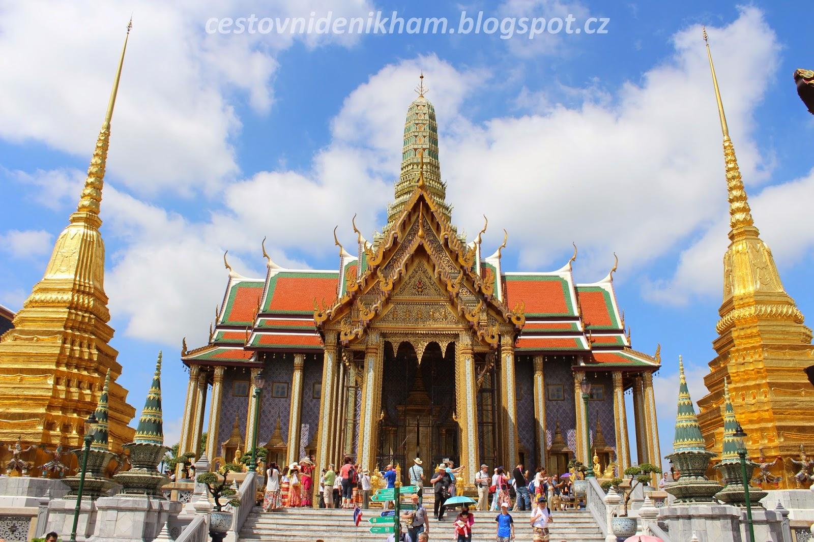 královský palác v Bangkoku // The Grand Palace Bangkok