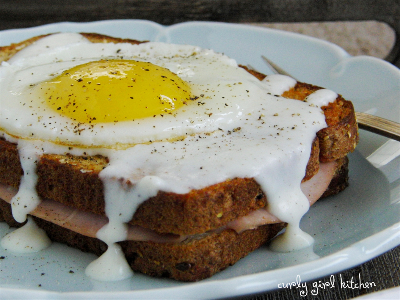 ... Girl Kitchen: Breakfast for Two - Croque Monsieur and Croque Madame