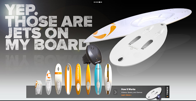 Wavejet jet propulsion surfboards