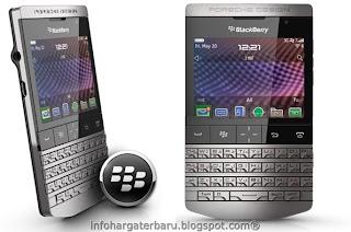 Harga Blackberry Porsche Spesifikasi 2012