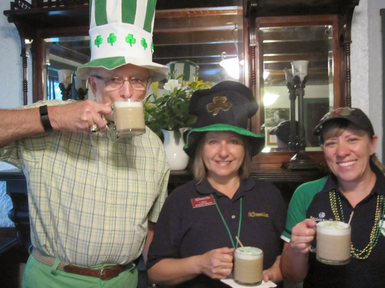 St Paddy's Day....stormin' rainin' drinkin' 1 IMG 4617 St. Francis Inn St. Augustine Bed and Breakfast