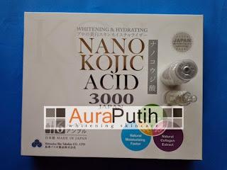 Kojic Acid Nano 3000 mg, nano kojic acid 3000, nano kojic japan, nano kojic acid, nano kojic acid 3000 harga murah