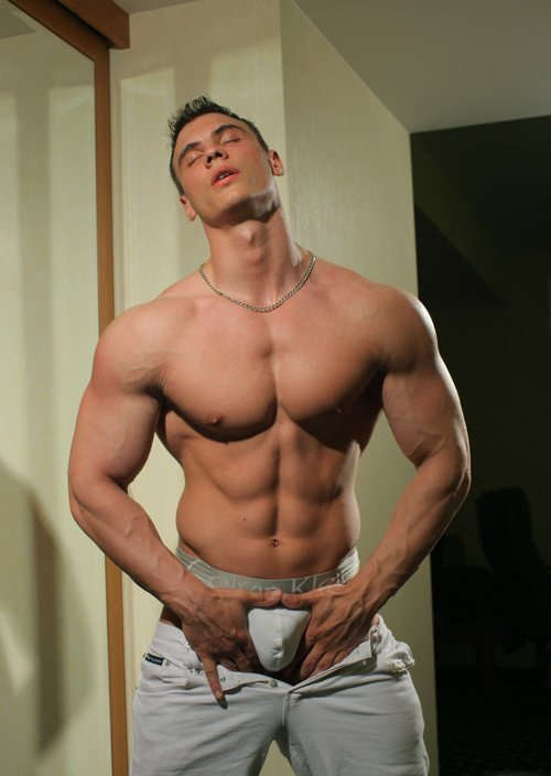 Straight guy submits to hard horny men 6