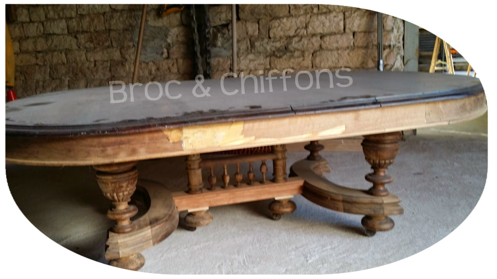 broc et chiffons relooking de meubles dans les deux s vres 79 patine l 39 ancienne table basse. Black Bedroom Furniture Sets. Home Design Ideas