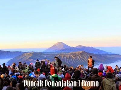 penanjakan 1 bromo objek wisata gunung Bromo