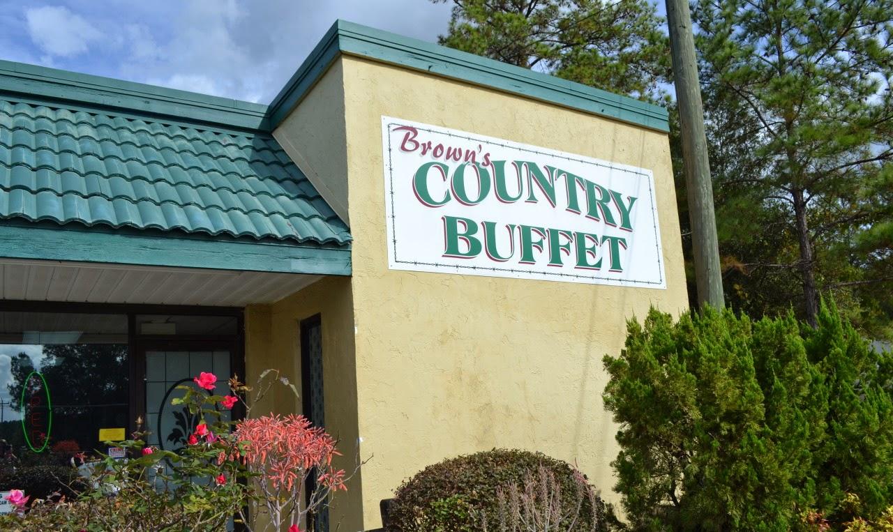 Brown's Country Buffet - Alachua, Florida - Gainesville Food Review: Brown's Country Buffet - Alachua, Florida