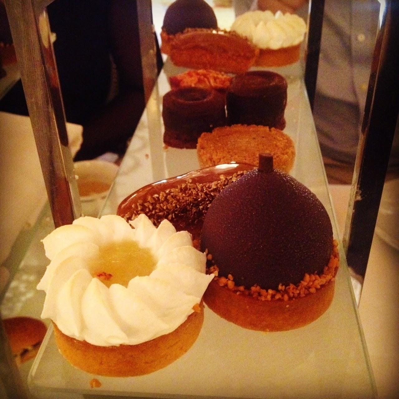 Tea time desserts at Le Dali