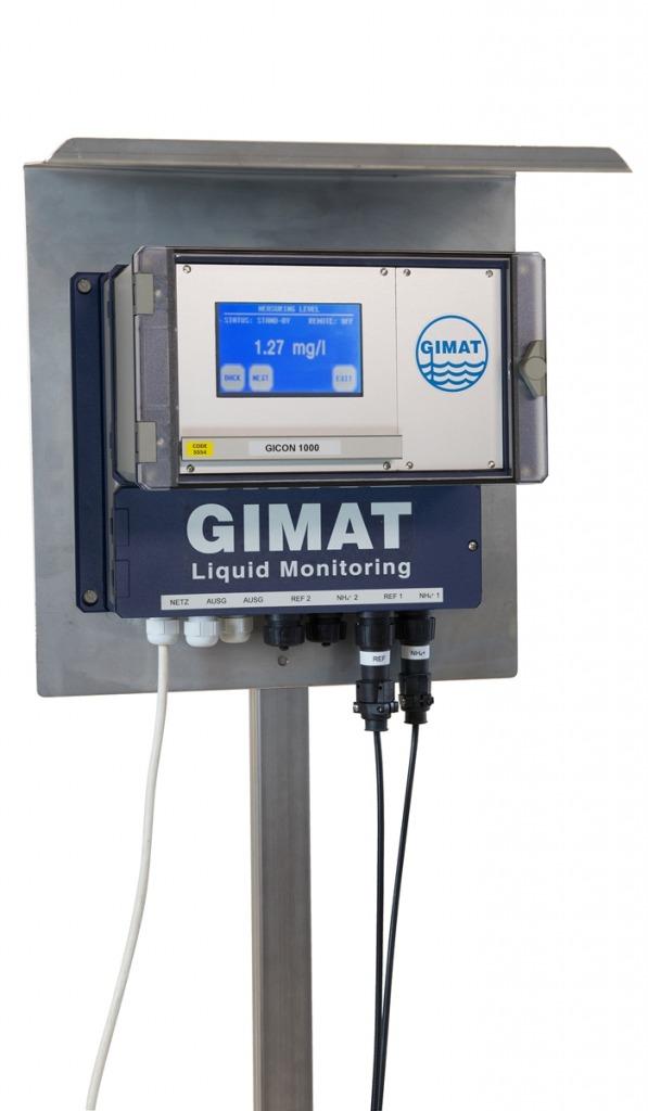 Controlador /indicador para todos los sensores Gimat,
