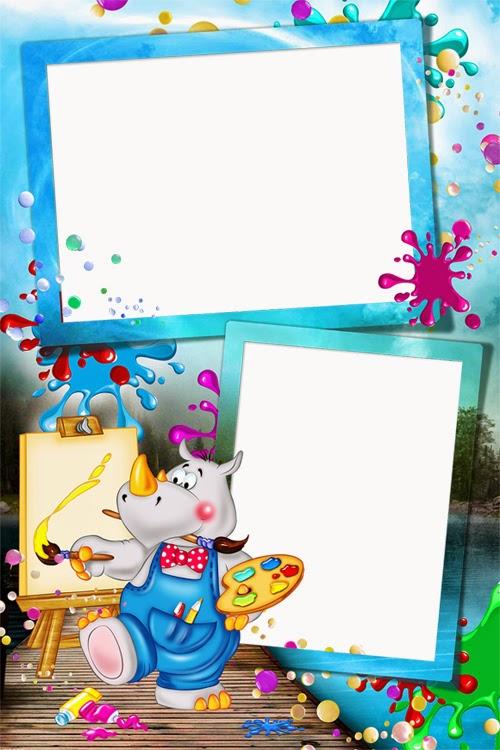 Marcos y Bordes para fotografias: Marcos gratis para fotos de niños ...