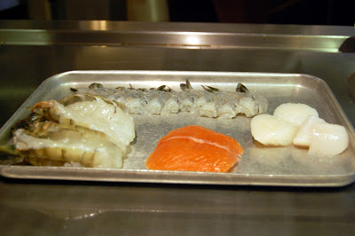 Stitch and Bear - Tippenyaki - Seafood ready for the teppan grill
