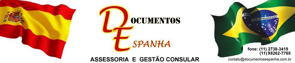 Documentos Espanha                                            (11) 2738-3419