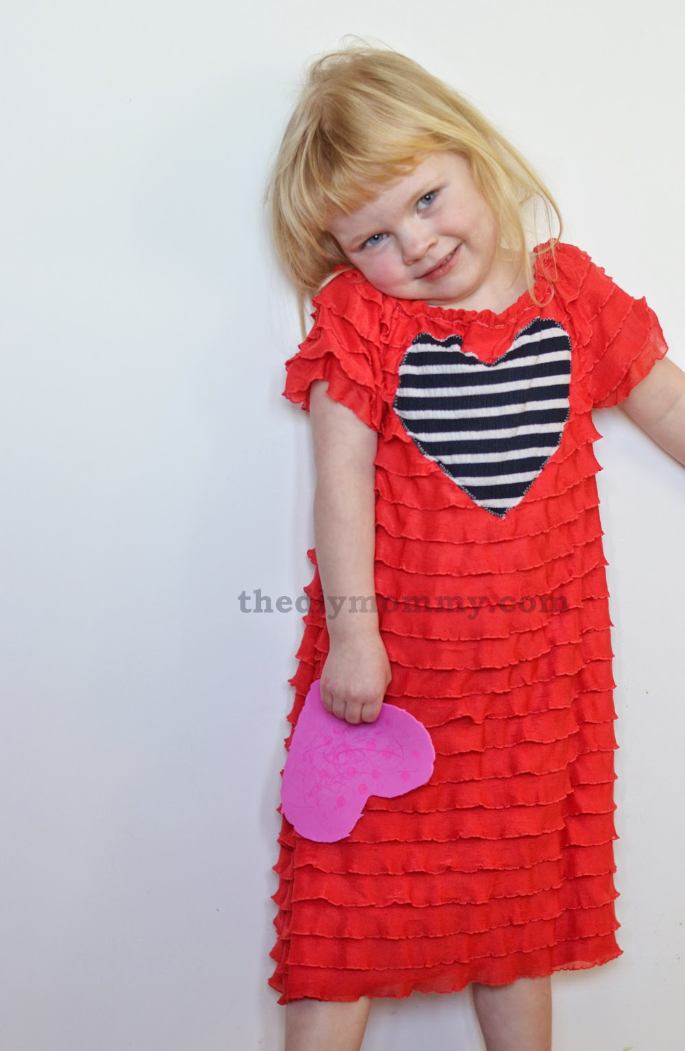 Mila Stole My Heart 10 DIY Valentine Outfit for My Toddler