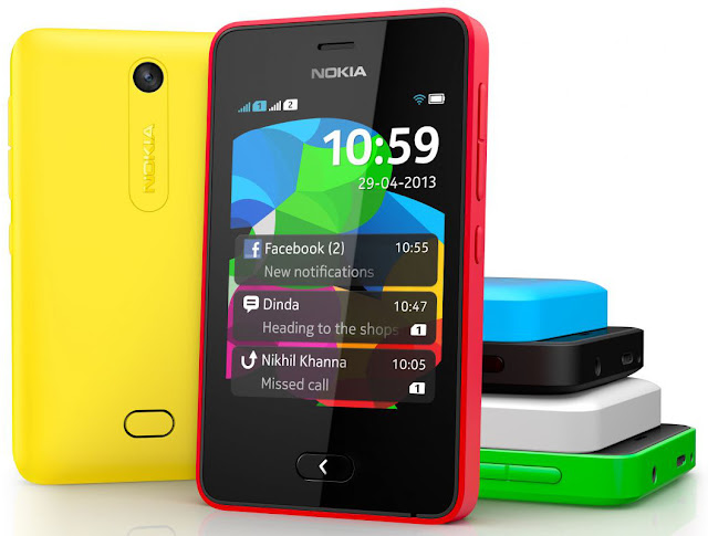 Nokia Asha 501 (Single SIM) - Nokia Asha 501 Dual SIM - Colores disponibles