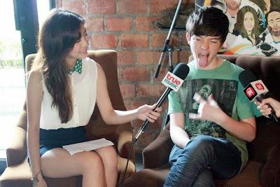 Greyson Chance in Asia Bangkok Thailand 2012
