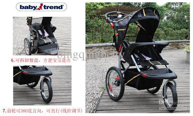Bassinet Jogging Stroller4