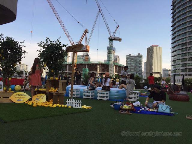 tiger radler picnicarnival pop up party rooftop avenue k kl malaysia