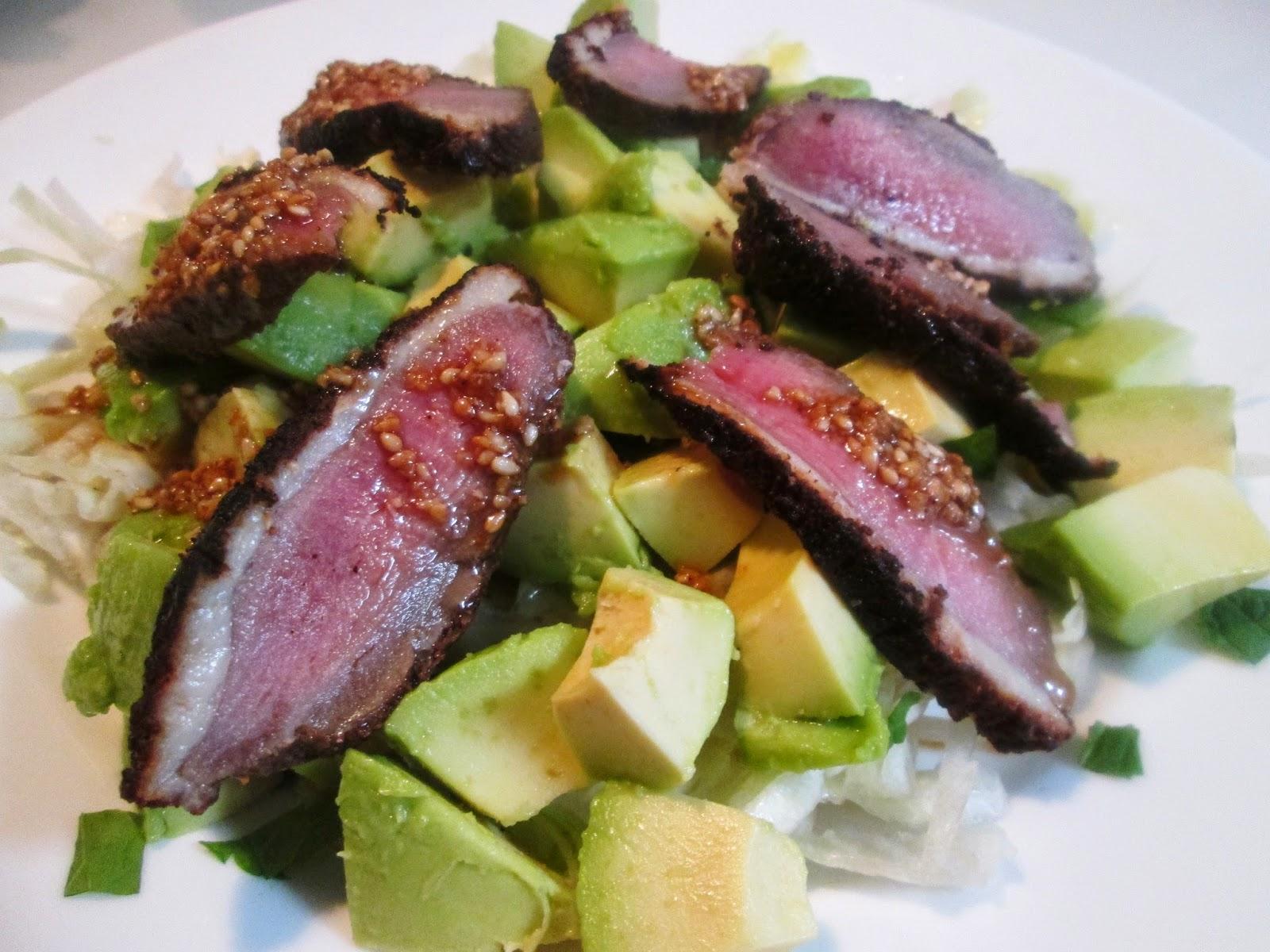 salat til andebryst