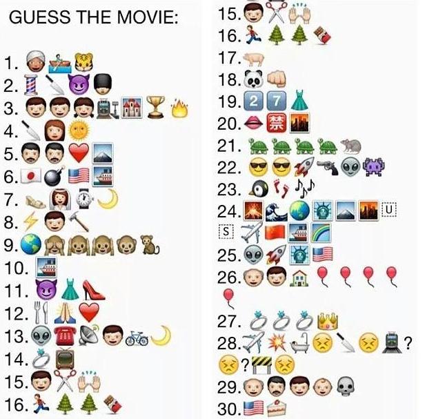 josie u0026 39 s juice  guess the movie as emojis  answers