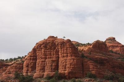Sedona red mountains Arizona