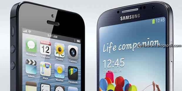 Adu Jatuh Galaxy S4 Vs iPhone 5