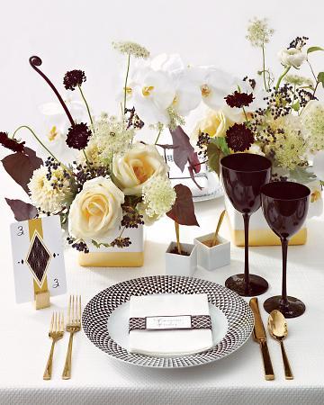 Wedding Blog Black White And Gold Wedding Color Ideas