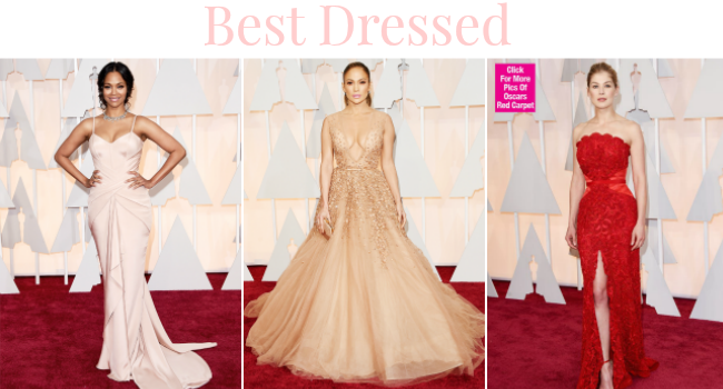 Oscar 2015 best dresses