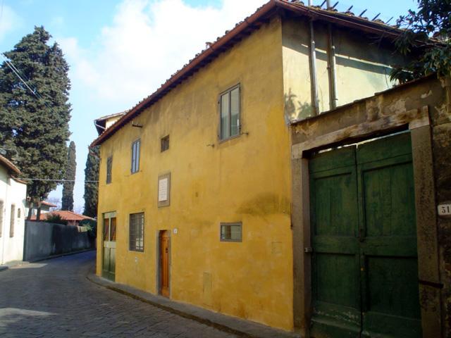 Curiosit di firenze ottone rosai e via di san leonardo - Casa del giunco firenze ...