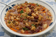 Whole Wheat Rotini Fagioli