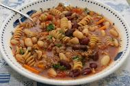 Whole Wheat Rotini Fagioli
