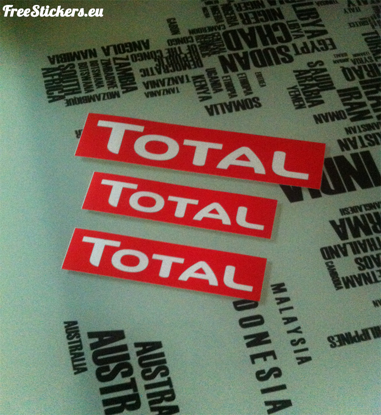 free stickers by mail 2015
