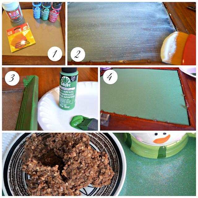 DIY: Mod Podge Cookies & Milk Santa Tray Tutorial