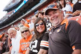 Cleveland, Browns, football, fans, stadium, family, NFL