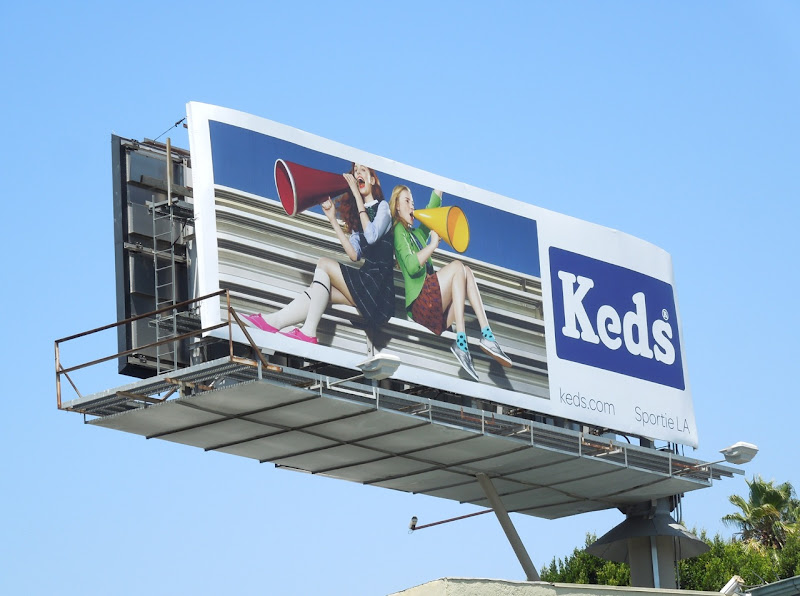 Keds bleachers billboard