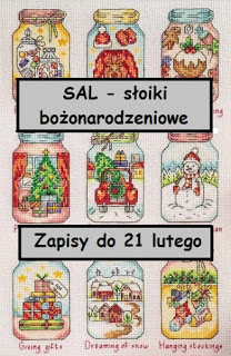bożonarodzeniowy SAL- cz. 2