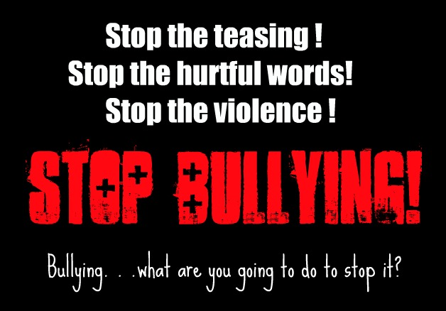 your words can hurt stop bullying