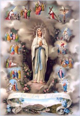 Nossa Senhora do Rosário - 15 Mistérios do Rosário