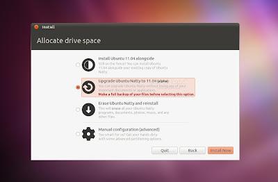 Ubuntu 11.04a3