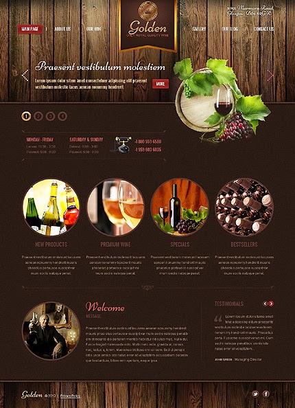 dịch vụ thiết kế web bán hàng rượu