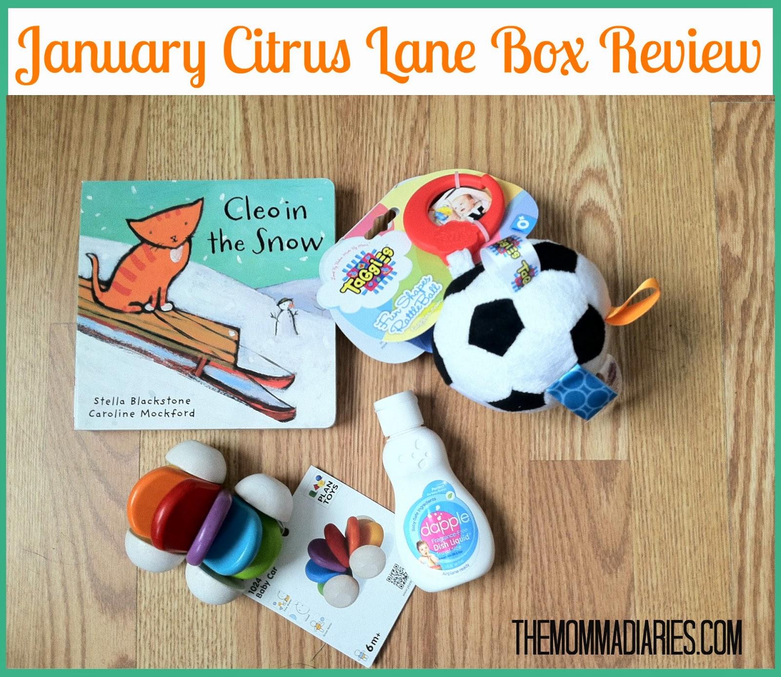 Citrus Lane Box January 2014