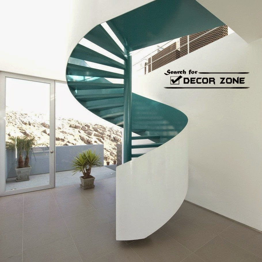 Moden Spiral Staircase Designs Made