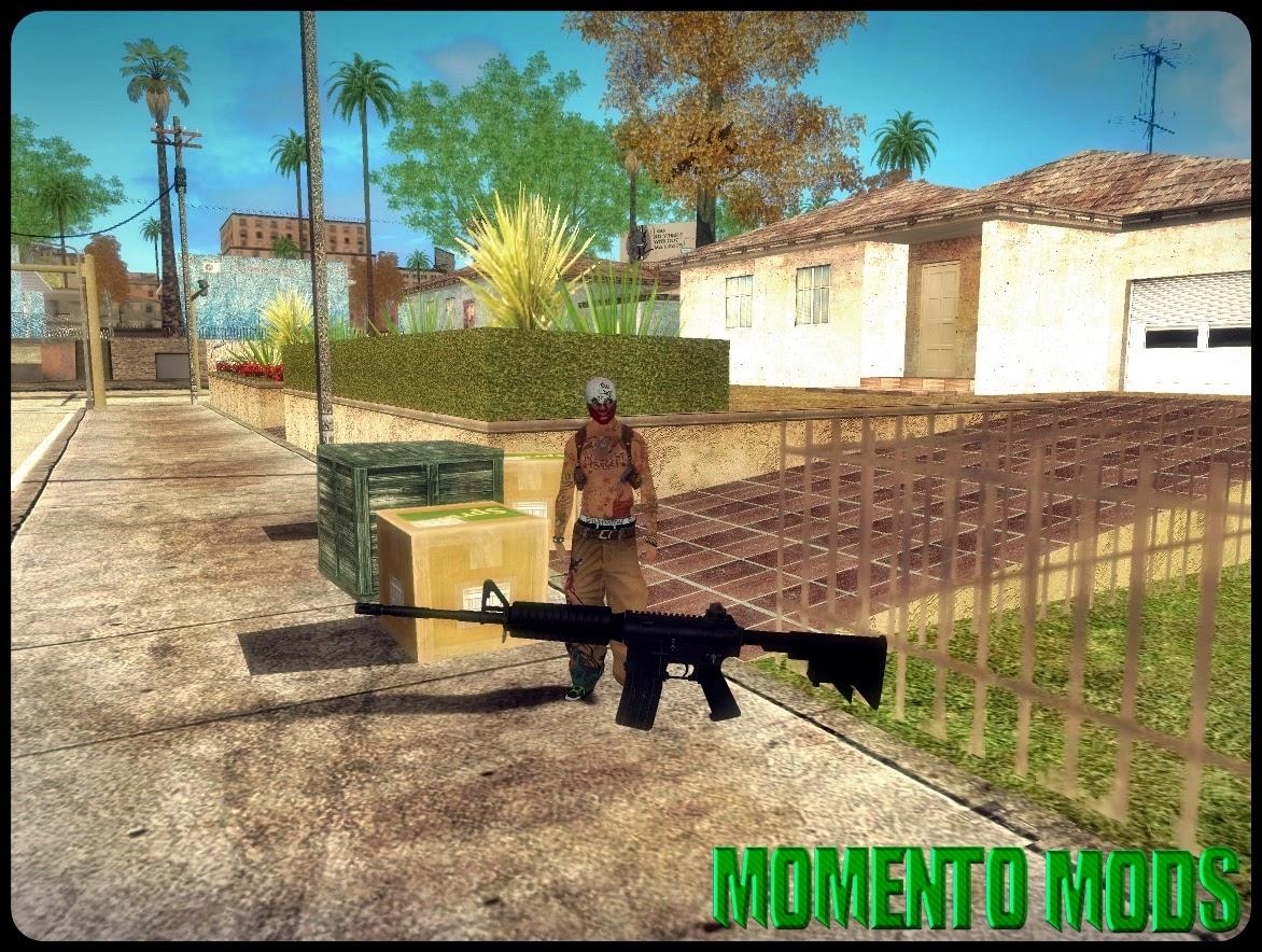 GTA SA - Mod De Soltar Armas