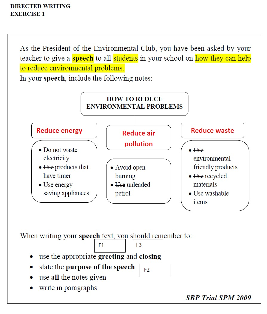 Englishoasis Directed Writing