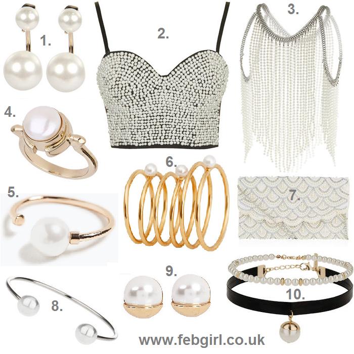 pearl fashion trend