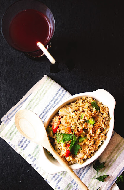 how to make homemade egg fried rice easily