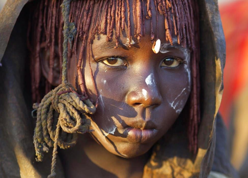 Girl in Kenya.
