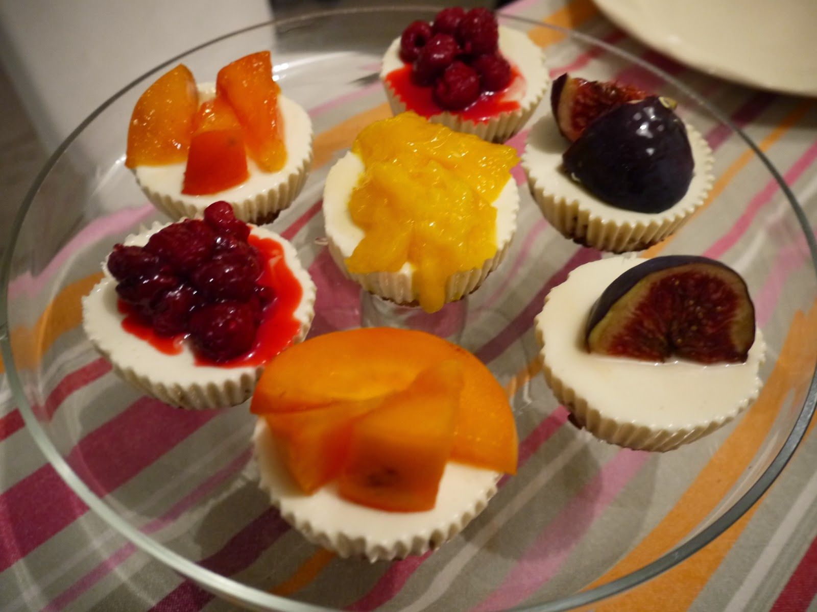 Mini gluten free cheese cake by Appetit Voyage