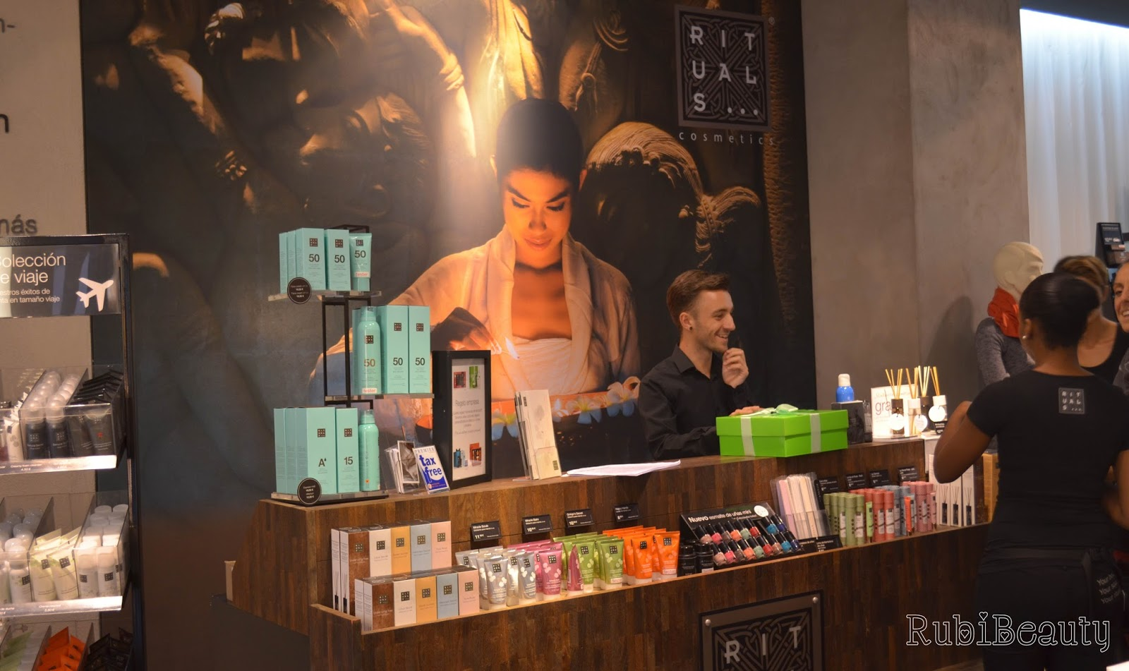 rubibeauty review tienda rituals madrid fuencarral ayurveda